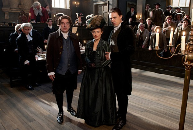 Alun Armstrong, Lyndsey Marshall and Andrew Buchan star in GARROW'S LAW, a se...