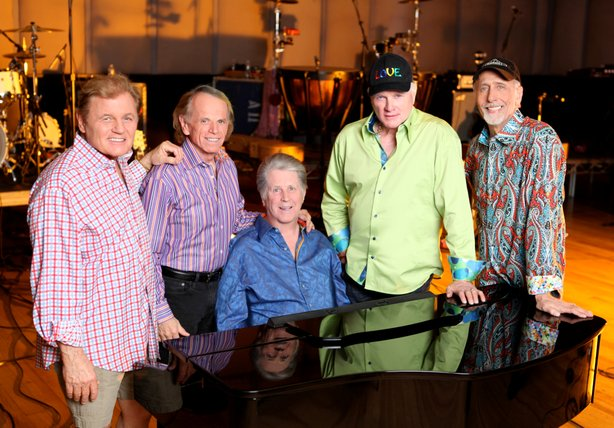The Beach Boys bring their 50th Anniversary tour to San Diego Friday, May 25.