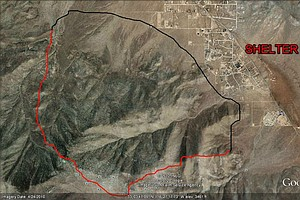 Fast-Moving Wildfire Fire Burns 1,200 Acres Near Julian