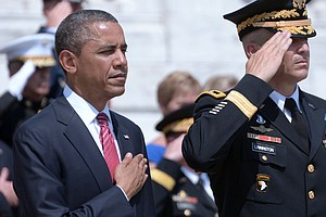 Obama: We Must Be 'Nation Worthy Of Your Sacrifice'