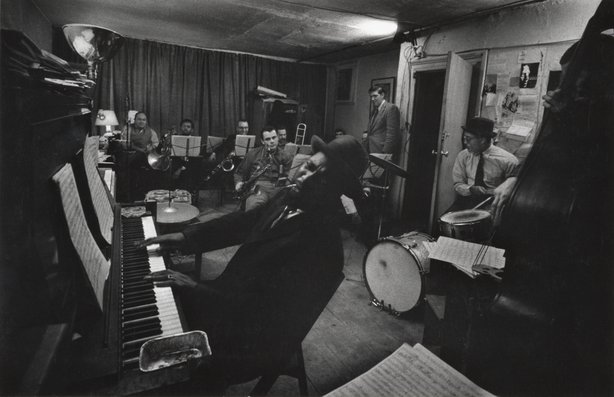 "W. Eugene Smith, ""Thelonious Monk and Town Hall Band in rehearsal,"" c. 1957-1..."