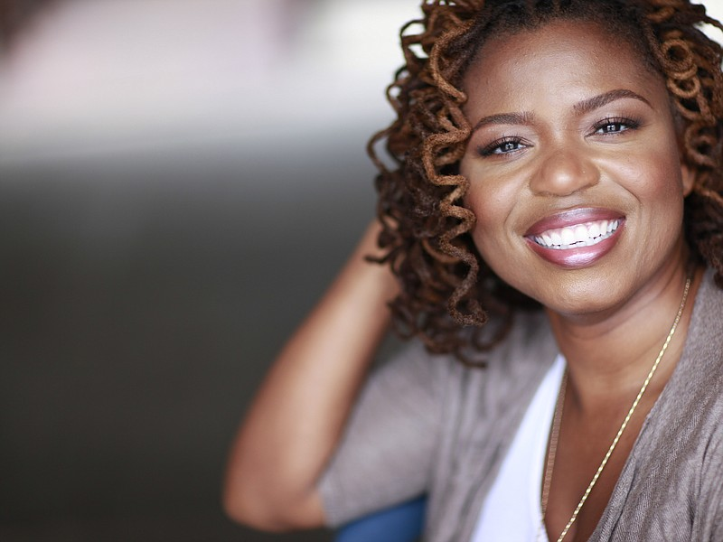 Playwright Katori Hall is the first African-American woman to win the Olivier...