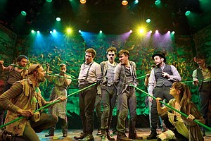 La Jolla Playhouse-Launched 'Peter And The Starcatcher' Wins Big At Tonys