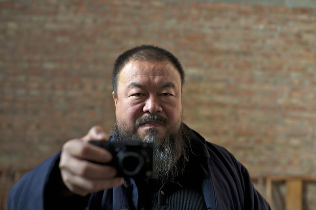 "Chinese artist Ai Weiwei is the subject of a new documentary, ""Ai Weiwei: Nev..."