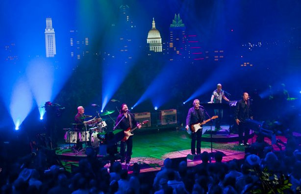 The Steve Miller Band performs classic blues tunes as well as hits for AUSTIN...