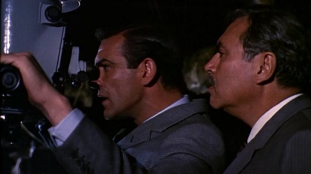 """Sean Connery as 007 in """"From Russia With Love."""""""