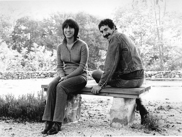 "Ingrid and Jim Croce. There is a new book out about their relationship, ""I Go..."