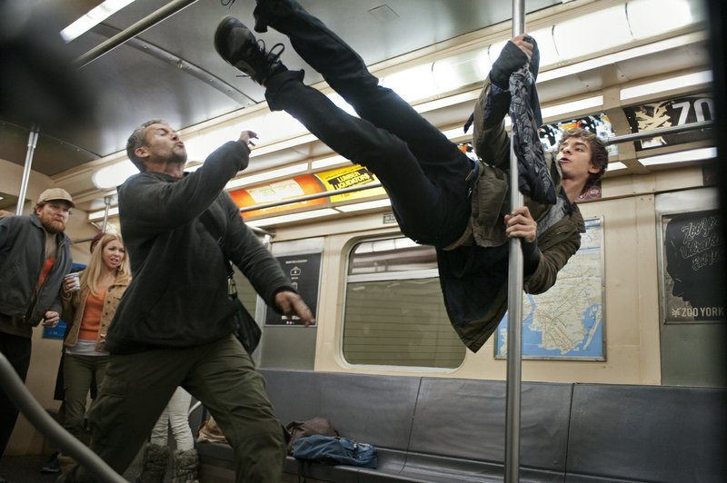 Andrew Garfield delivers a more agile and acrobatic Peter Parker/Spidey in
