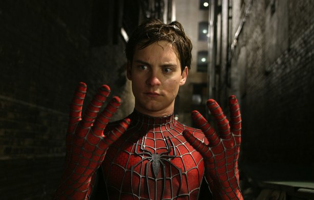 "Tobey Maguire returns for ""Spider-Man 2."""