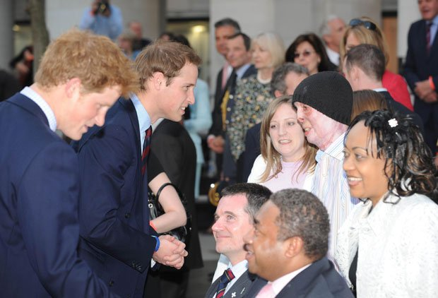 Prince Harry and Prince William meet war veterans to celebrate and support Br...