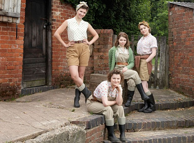 Nancy Morrell played by Summer Strallen; Joyce Fisher played by Becci Gemmell...