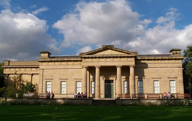 The Yorkshire Museum, York, England. Designed by architect William Wilkins in...