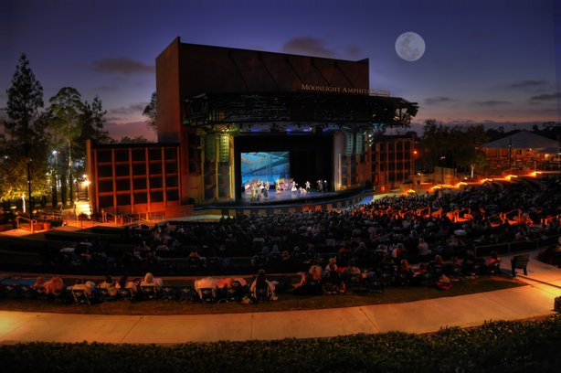 The Moonlight Amphitheater in Vista, home of Moonlight Stage Productions.