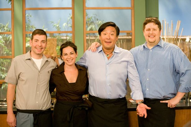 The James Beard Award-Winning Blue Ginger Team: Tom Woods, Michele Fadden, Mi...