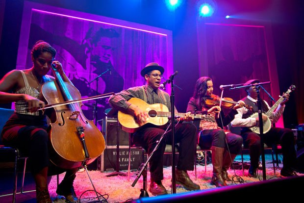 "The Carolina Chocolate Drops perform ""Jackson"" in this concert that celebrate..."