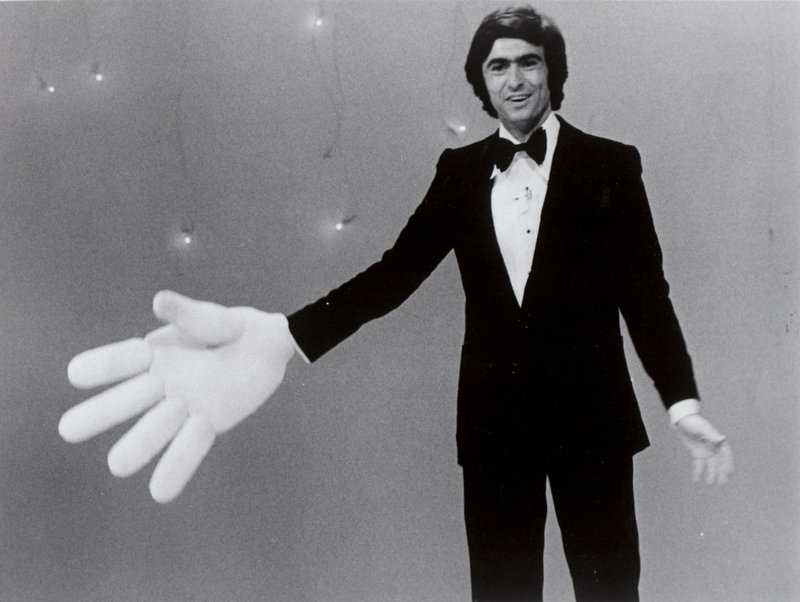 Comedian David Steinberg on his 1970s television show,