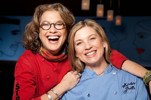Chefs Susan Feniger and Mary Sue Milliken of Border Grill.