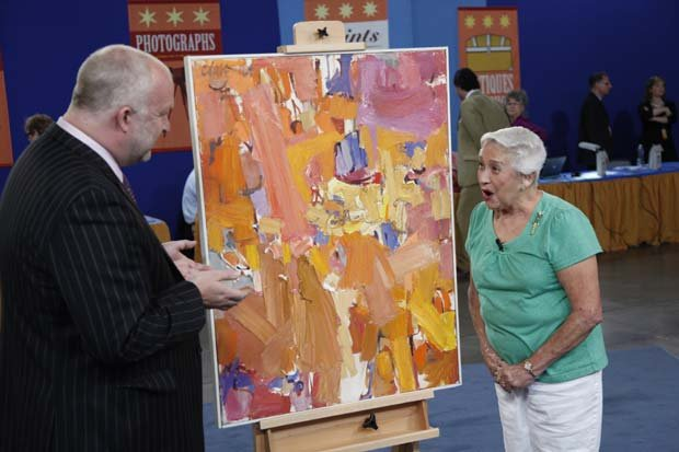At ANTIQUES ROADSHOW in Phoenix, Arizona, this guest brings an early abstract...