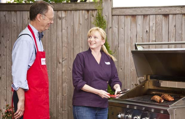 Host Christopher Kimball and test kitchen cook Julia Collin Davison reveal th...