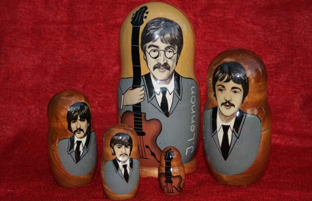Beatles matrushka dolls. This documentary tells the extraordinary and untold ...
