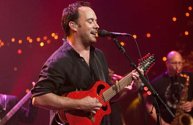 Rock superstars the Dave Matthews Band perform hits and songs from their albu...