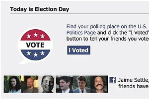 Facebook Voting Button Increased 2010 Turnout, UCSD Study Finds