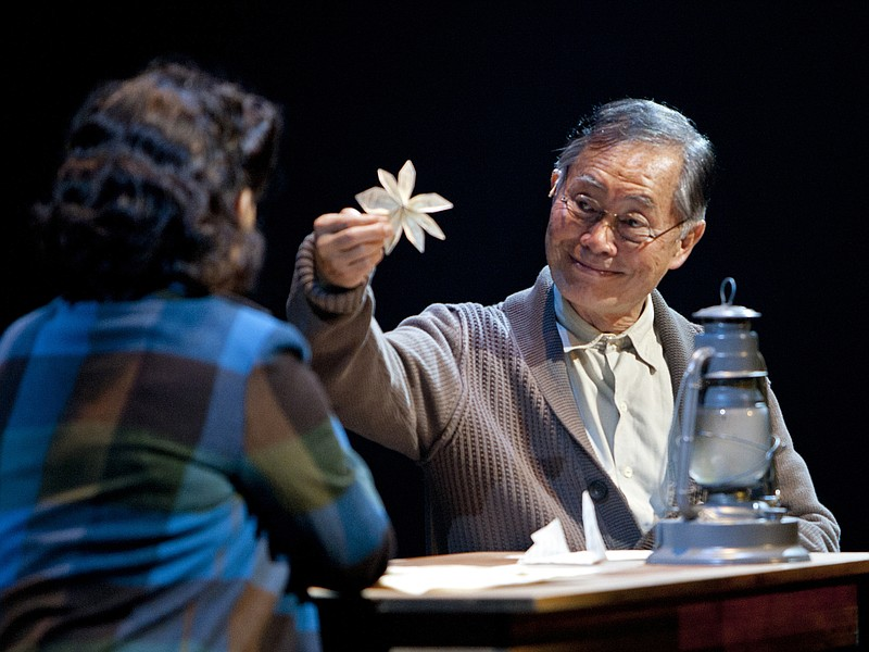 George Takei stars in the new musical