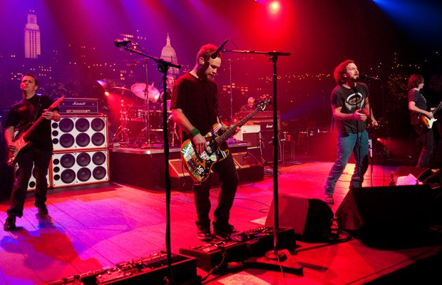 Classic alternative rockers Pearl Jam take the AUSTIN CITY LIMITS stage with ...
