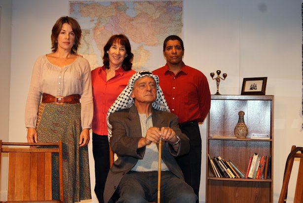 "The cast of ""Welcome to Ramallah."""