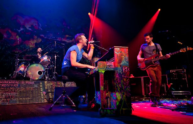 Modern rock giants Coldplay ring in the new year with an AUSTIN CITY LIMITS N...