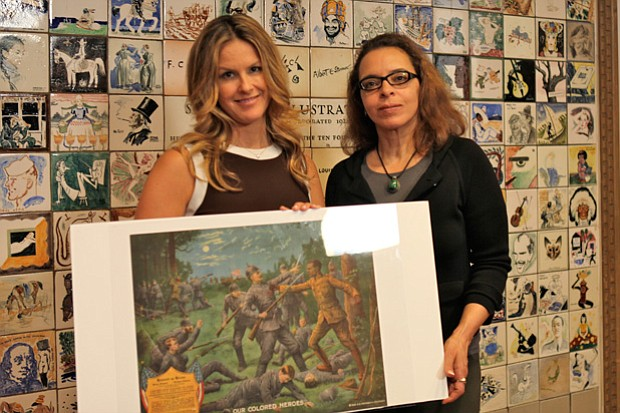 HISTORY DETECTIVES Elyse Luray consults with expert Vera Grant to help give h...