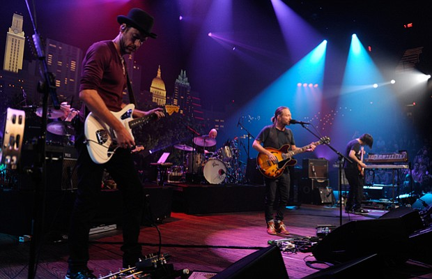 Alt rock icon Radiohead takes the AUSTIN CITY LIMITS stage, performing songs ...