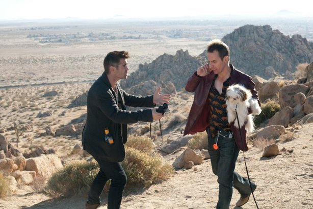 "Colin Farrell and Sam Rockwell in ""Seven Psychopaths."""