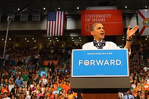 Obama Out To Seize Momentum From Romney In Debate