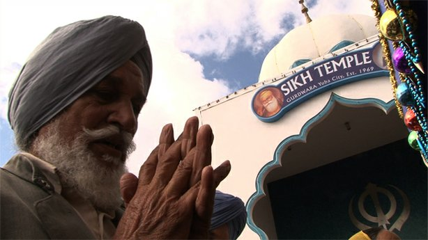 "A Sikh man prays. The public television special, ""Asian And Abrahamic Religio..."