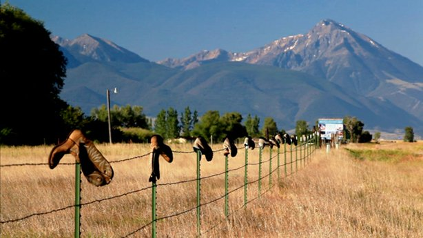 A fence lined with hanging boots in Montana. How has the Supreme Court's Citizens United decision changed campaigns in America? Ask Montana, which has tried to challenge the ruling in court, is investigating alleged campaign abuses and is playing host to a bitter race that could decide control of the U.S. Senate.