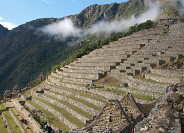 A view of Mach Picchu. NOVA joins a new generation of archeologists as they p...