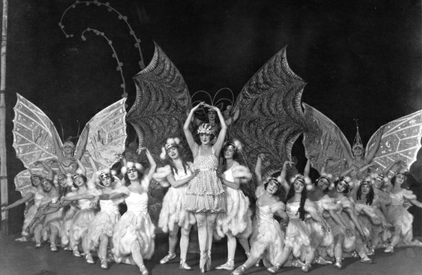 "Butterfly Chorus from ""Sally,"" 1920."