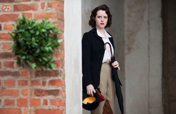 Claire Foy as Lady Persie Towyn. With war looming, romance is in the air—illi...