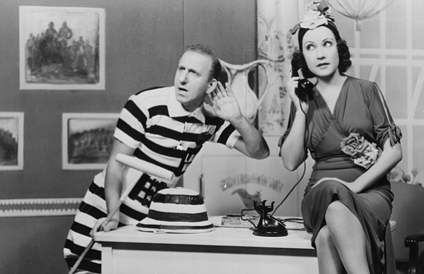 Jimmy Durante and Ethel Merman in