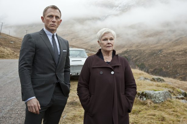 "Daniel Craig and Judi Dench return respectively as agent 007 and M in ""Skyfall."""