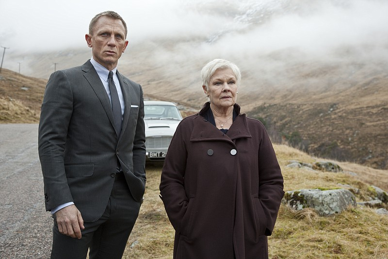 Daniel Craig and Judi Dench return respectively as agent 007 and M in