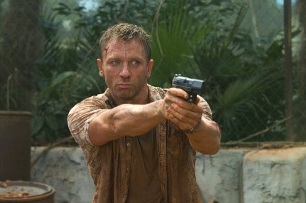 Daniel Craig as the new and revitalized James Bond in