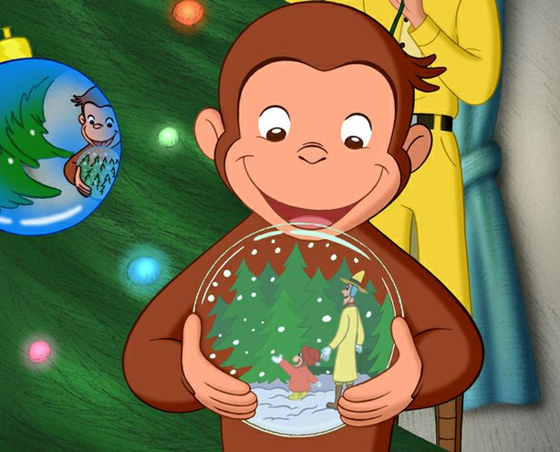 Curious george a very monkey christmas kpbs