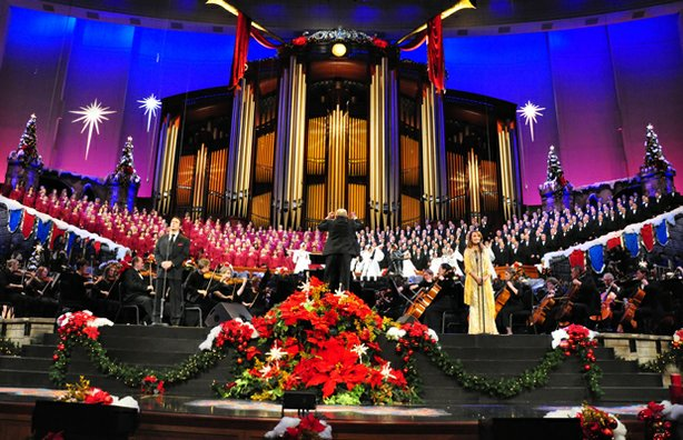 Grammy Award-winning baritone Nathan Gunn and Emmy and Golden Globe-winning actress Jane Seymour join the renowned Mormon Tabernacle Choir and Orchestra at Temple Square.