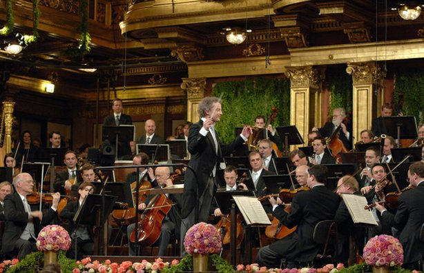Vienna Philharmonic with Conductor Franz Welser-Möst.