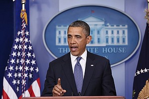Obama Says Immediate Action Needed On Fiscal Cliff