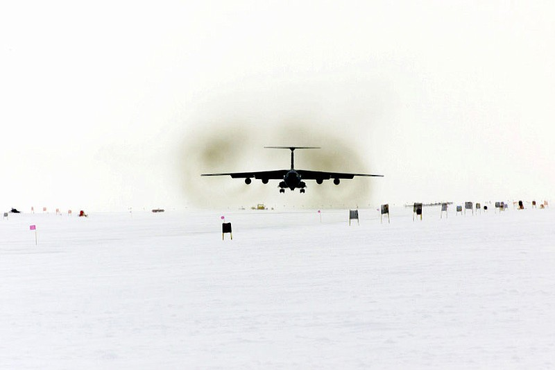 The C-141C Starlifter aircraft from the 452nd Air Mobility Wing, March Air Re...