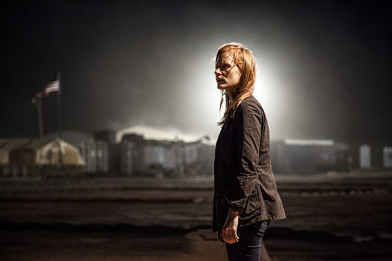 Jessica Chastain stars as a CIA agent at the center for the hunt for Osama Bi...