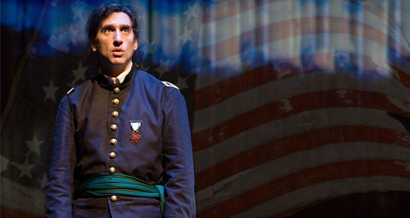 Hershey Felder, actor, playwright and composer, wrote and stars in